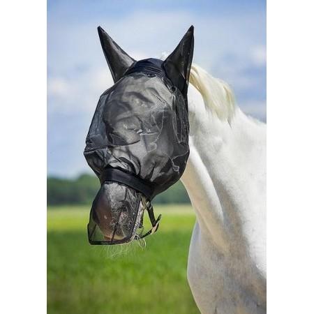 Protector anti-moscas de punto de red para los ollares del caballo