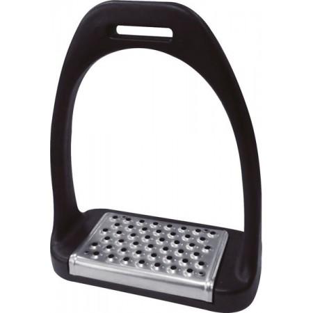 Estribo silla de montar Composite taco inoxidable