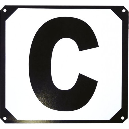 Set de 12 letras para picadero base metálica