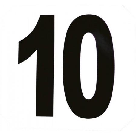 Set de 12 números adhesivos para salto