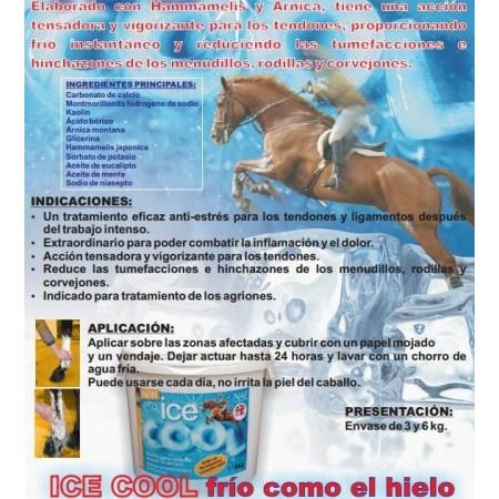 Arcilla para caballo Ice Cool
