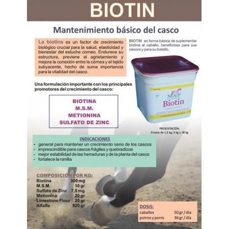 Biotina para caballo Biotin Naf