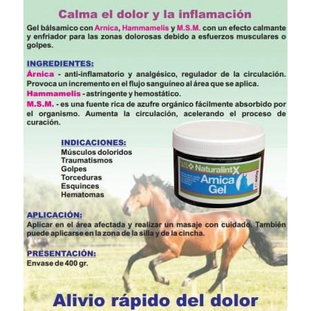 Gel balsámico para caballo Arnica Gel (400 g)