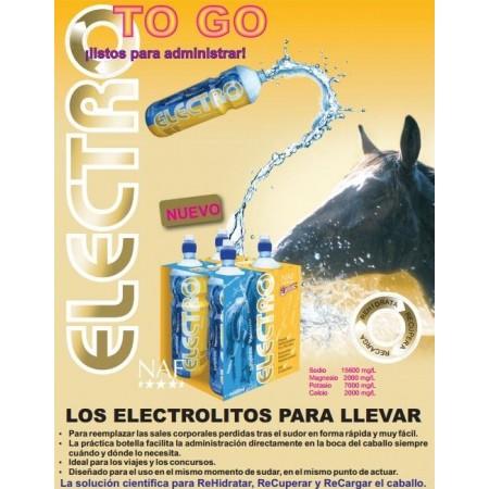 Electro, electrolitos para caballo (4 x 500ml)