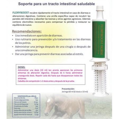 Prebióticos para caballo en jeringa Floryboost (jeringa con 6 dosis)