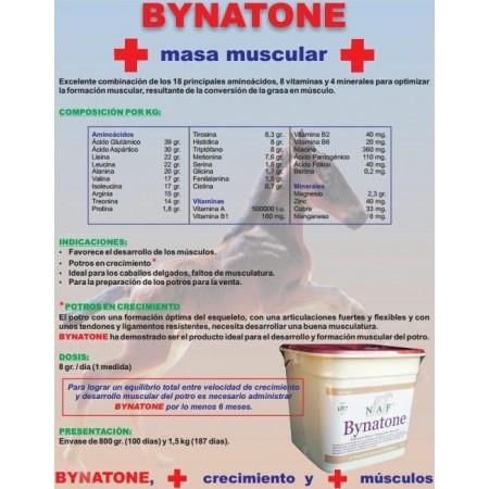 Bynatone, crecimiento potro y desarrollo musculatura
