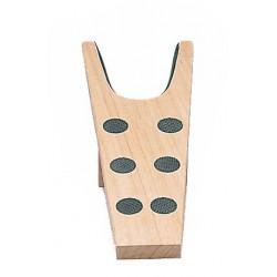 Sacabotas de madera con goma