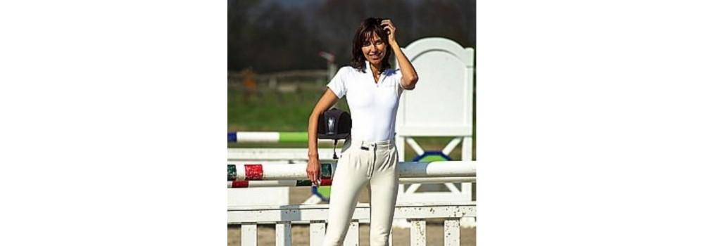 Camisetas y Polos de Equitación para Concurso