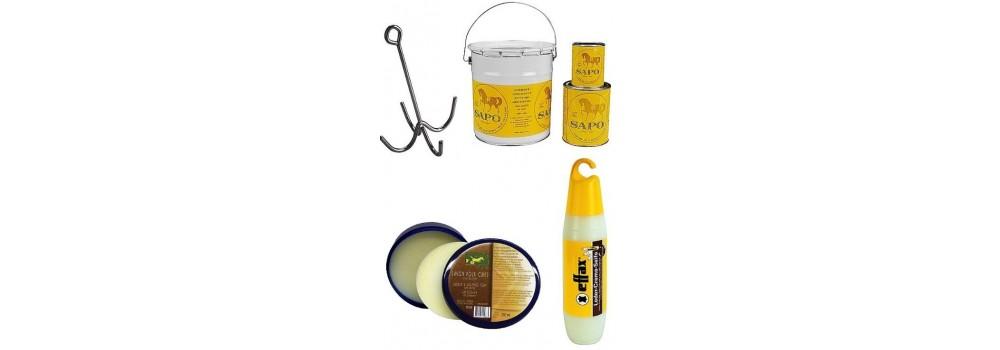 Productos para la limpieza del cuero