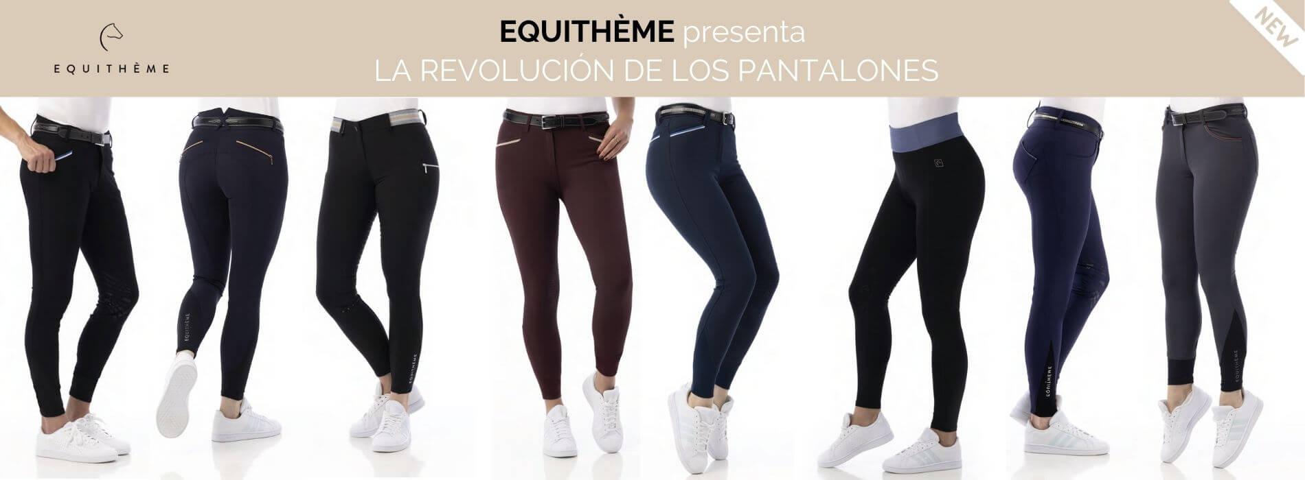 Nuevos Pantalones de Equithème para Equitación