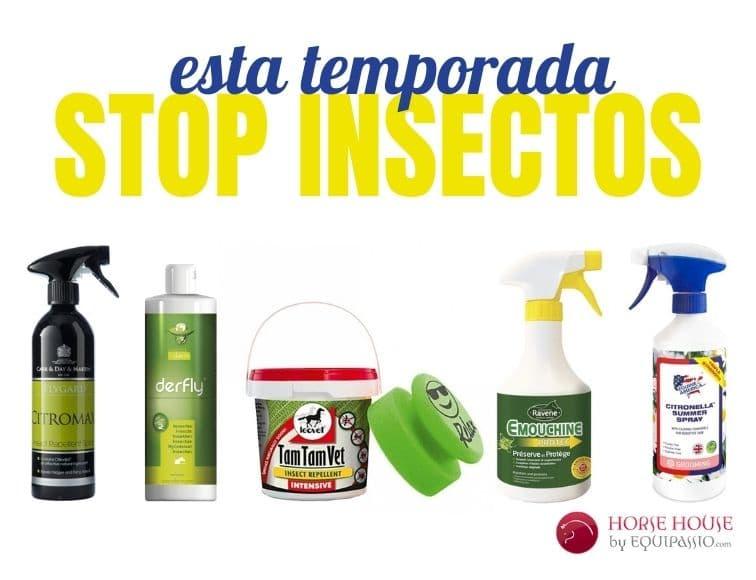 sprays y repelentes antimoscas para caballos
